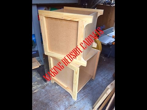 Making two bedside cabinet part 1.