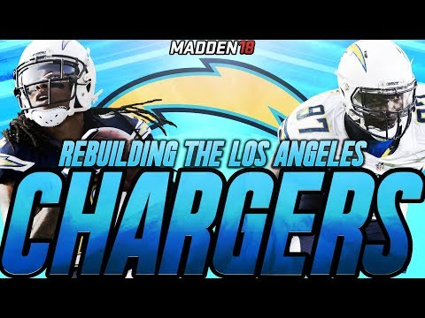 Madden 18 Connected Franchise | Rebuilding The Los Angeles Chargers | The Watt Family