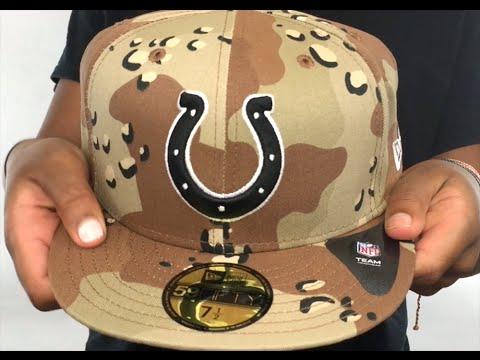 Colts  NFL TEAM-BASIC  Desert Storm Camo Fitted Hat by New Era - YouTube eeb373ec6f4