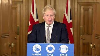 Правительство Великобритании заявило о введении новых ограничительных мер из за коронавируса