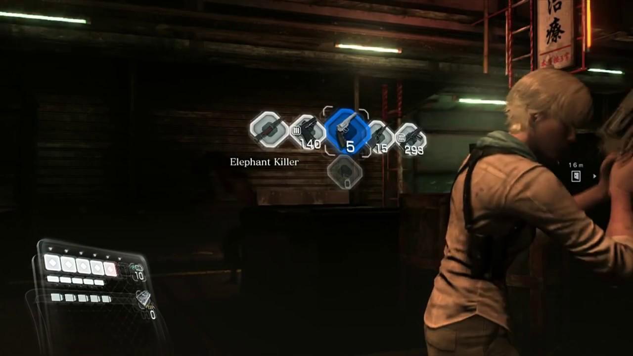 Resident Evil 6 - Mercenaries - Sherry Birkin - YouTube