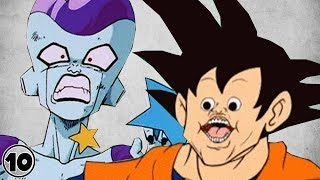 Top 10 Dragon Ball Mistakes You Can't Unsee