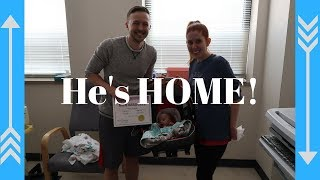 AFTER 147 DAYS OUR MIRACLE BABY IS HOME