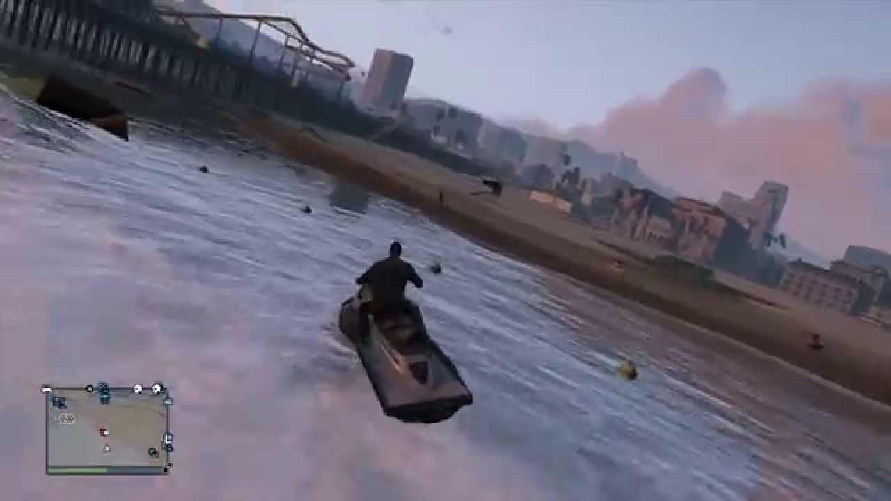 A LAS MOTOS DE AGUA  GTA Online con Willy y Vegetta  YouTube