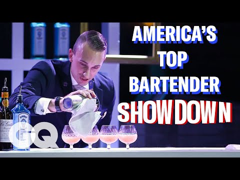 The Final down for America's Top Bartender  GQ