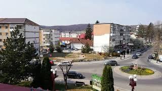 Pucioasa _ vedere din balcon hotel Ceres