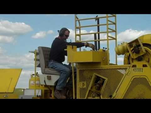 Quick look at Transmission System Maintenance work near Culbertson, MT