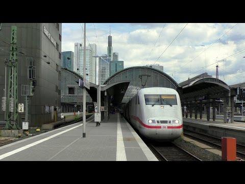 Frankfurt am Main Hbf mit ICEs (ICE 1, 3, T, Velaro D), IC (BR 101), HLB, VIAS, DB Regio und mehr