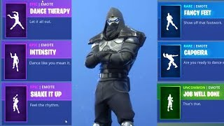 NEW FORTNITE ENFORCER SKIN WITH NEW EMOTES!