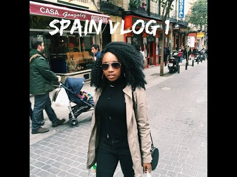 Spain Trip VLOG #1| Madrid & Seville