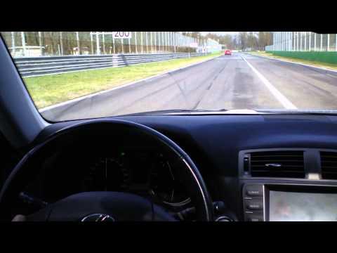 Lexus IS 220d @ Monza