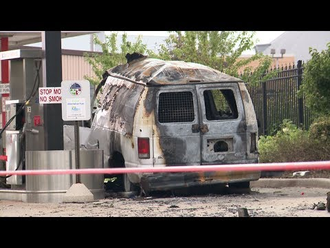 Two men remain hospitalized after natural gas explosion at DPW garage