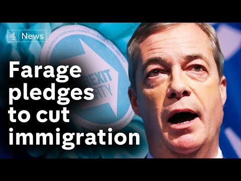Brexit Party targets immigration in election 'contract'