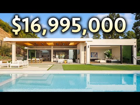 INSIDE a $16,995,000 BEVERLY HILLS Modern Mansion with Incredible Views! indir