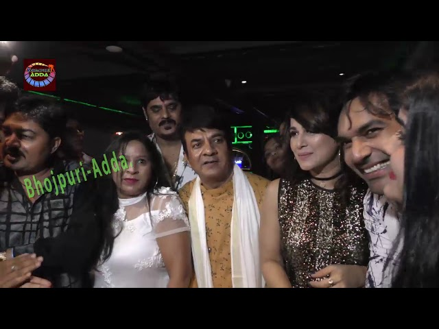 Bollywood Actor Ravindra Tuteja Celebrity Birthday party with Rani Chaterjee ,Ritesh pandey