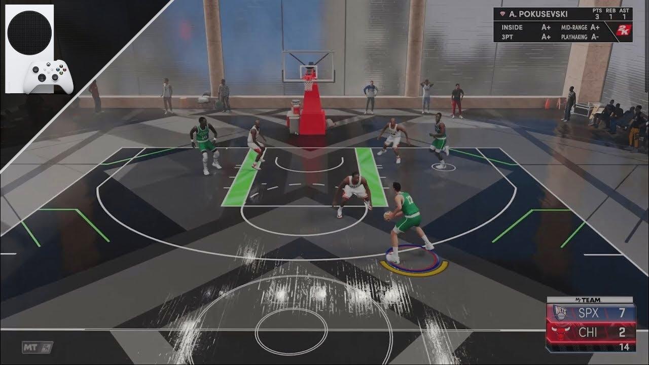 NBA 2K21 Xbox Series S Gameplay [60fps]