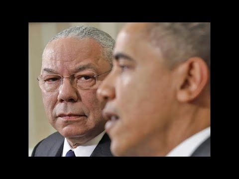 Colin Powell RIP - Endorsement Of Barack Obama in 2008 Marked Major Change In Black Relations