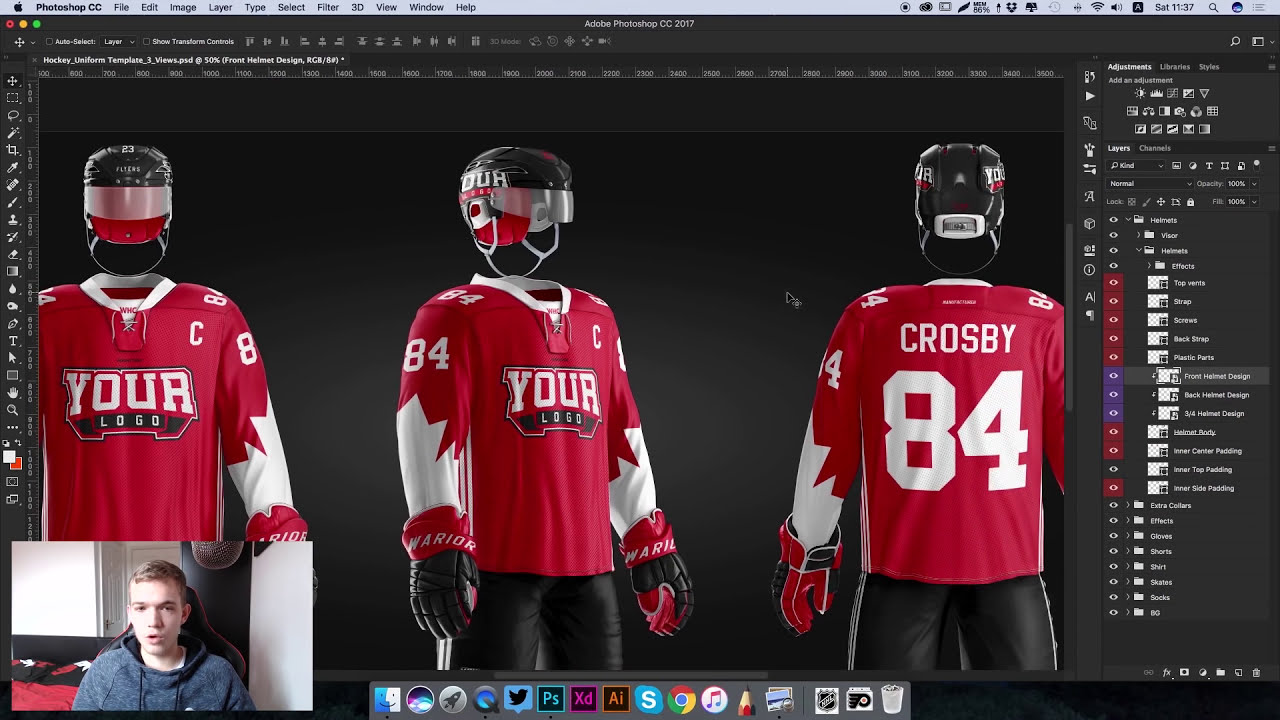 How To Design The Hockey Uniform of NHL Philadelphia Flyers ...