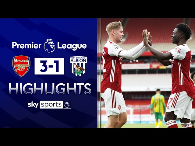 Superb Willian free-kick & Pepe stunner sends Baggies down | Arsenal 3-1 West Brom | EPL Highlights