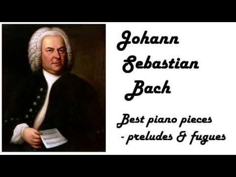 Johann Sebastian Bach - Best Preludes & Fugues in 432 Hz tuning (relaxing piano music for reading)