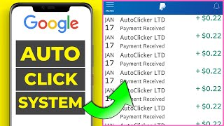 Earn $0.22 EVERY Click (Auto Google Search & Click System) *make money online*