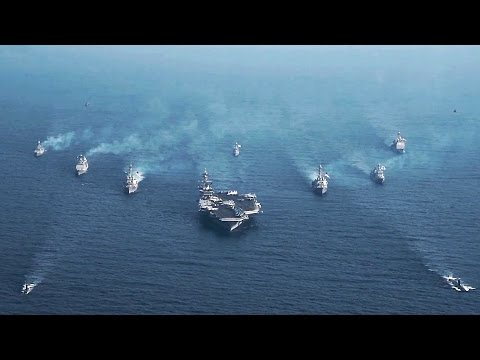 U.S. & Republic Of Korea Navy Vessels Sail Together In Show Of Force