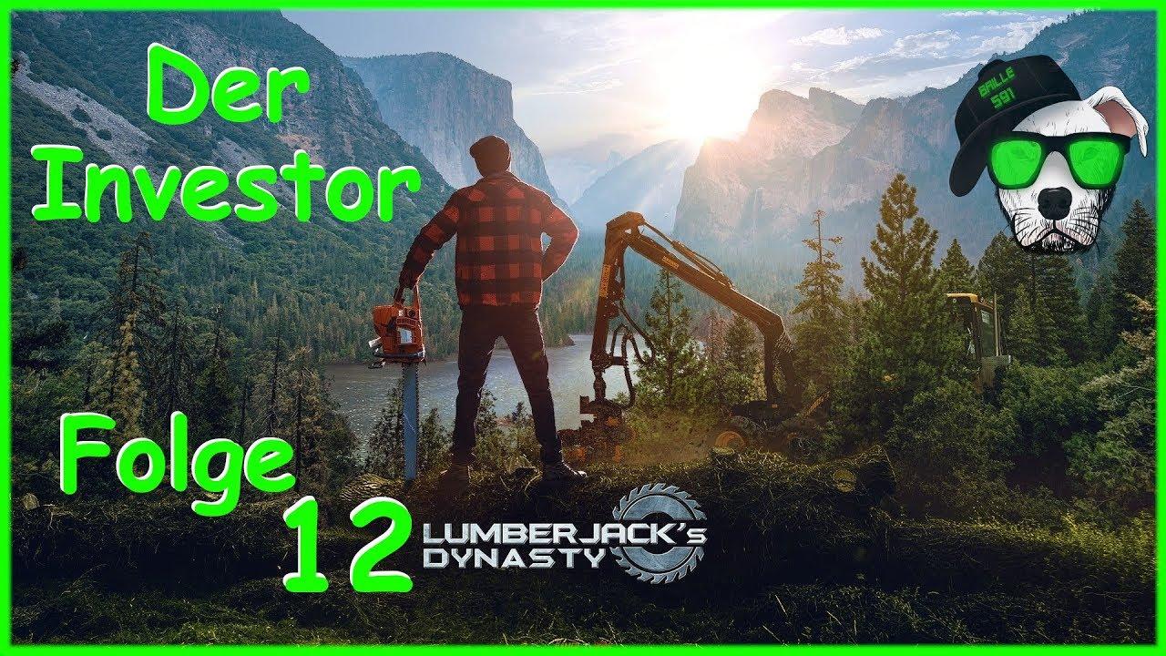 🌲 Lumberjack's Dynasty | Folge 12: Der Investor | [Let's play Deutsch]