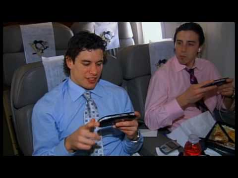 Pittsburgh Penguins playing PSP
