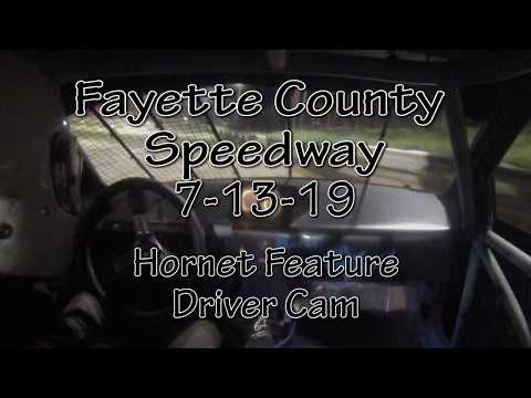 Fayette County Speedway Hornet Feature Driver Cam