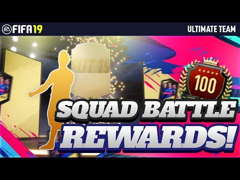 TOP100 SQUAD BATTLES REWARDS EA SERVERS ARE A SHAMBLES FIFA 19