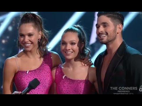 Maddie Ziegler Trio on DWTS with Alexis Ren & Alan Bersten Dancing with the Stars Week 4