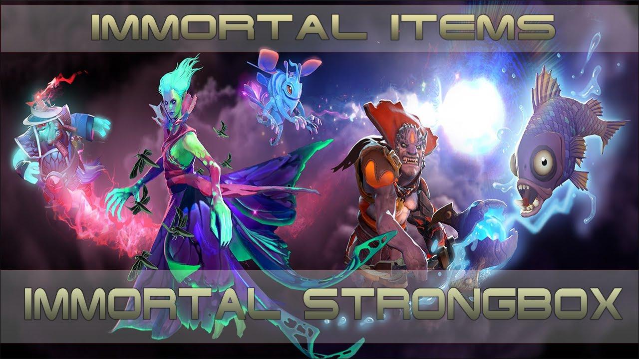 Compendium Immortal Items: Immortal Items [Immortal Strongbox Compendium]
