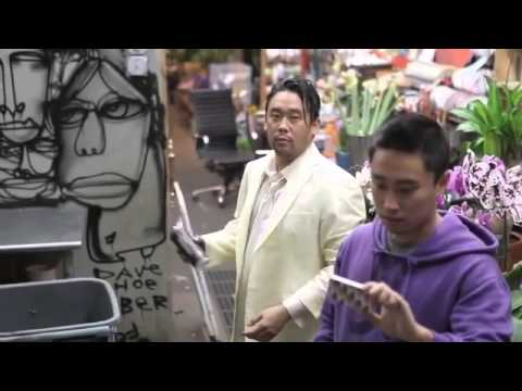 Saber and David Choe November 2nd Flower Shop