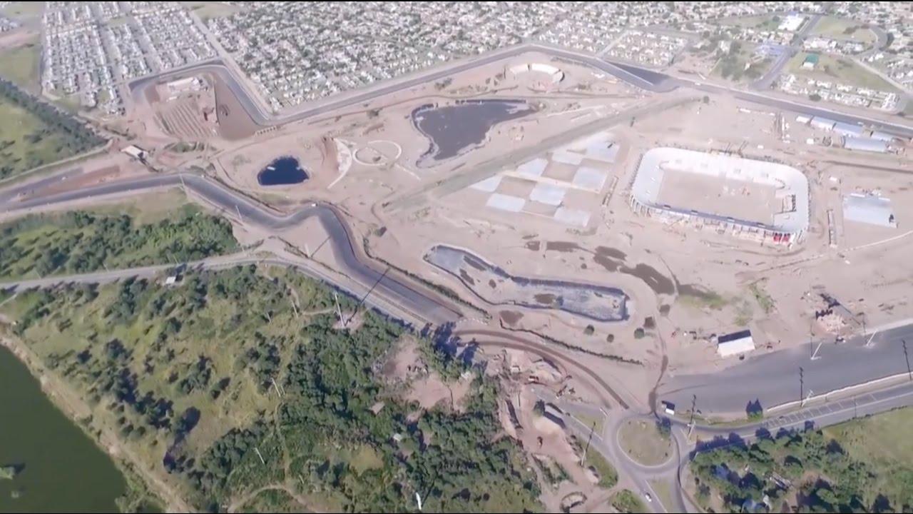 Circuito La Pedrera : El nuevo autódromo de la pedrera en etapa de finalización 25 04