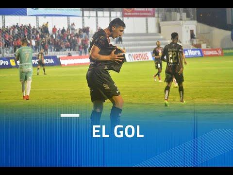 Gol de Dorregaray jugador de Técnico Universitario