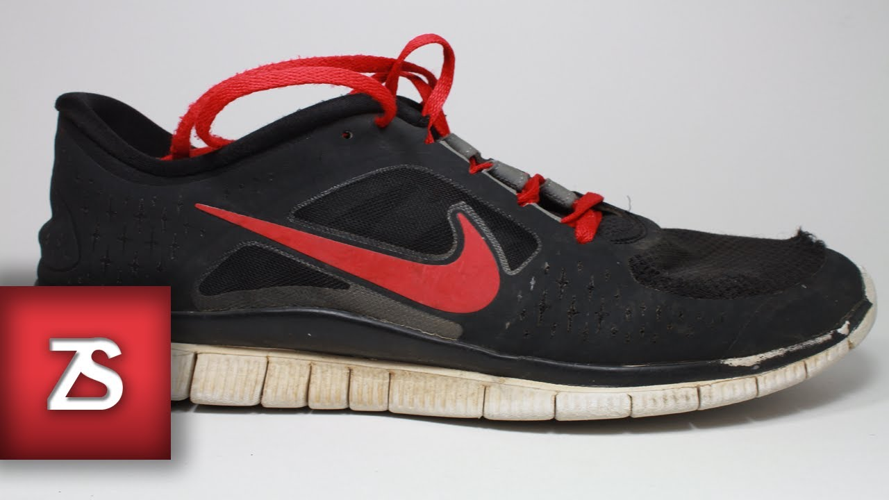 nike free run 2 sneaker boot leather repair