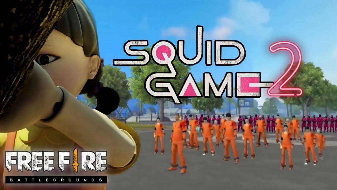 FILM PENDEK FREE FIRE!! SQUID GAME PART 2 !!