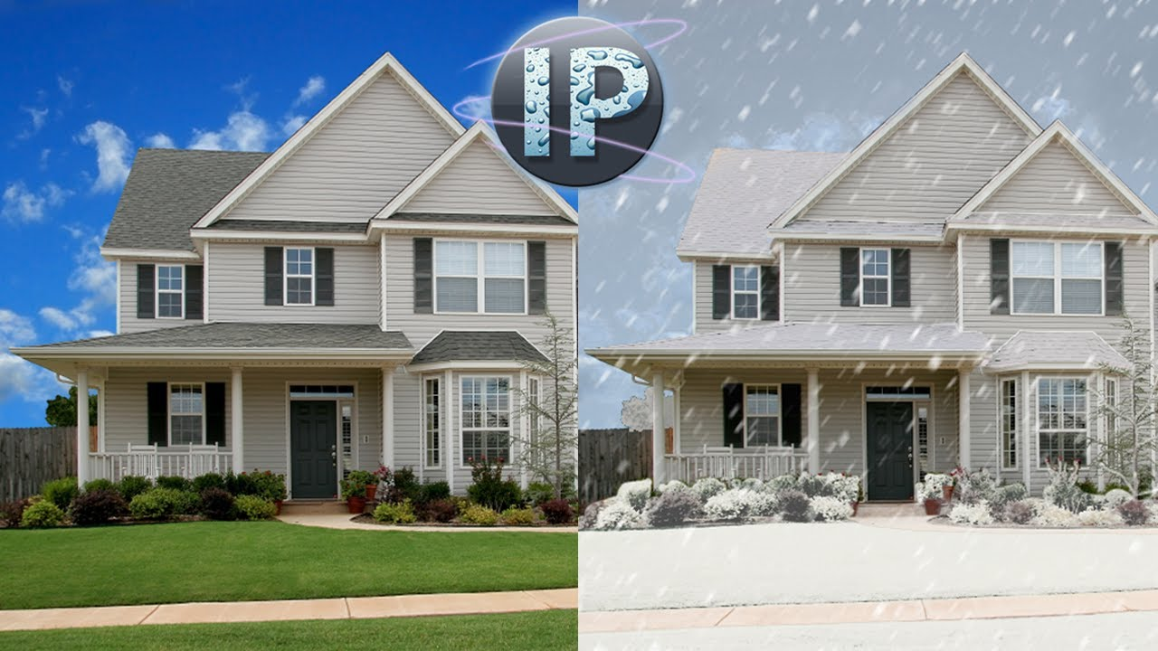 Photoshop elements tutorial creating digital snow photoshop photoshop elements tutorial creating digital snow photoshop elements 10 11 12 youtube baditri Gallery