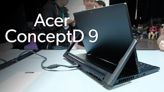 Acer ConceptD 9: For the creatives