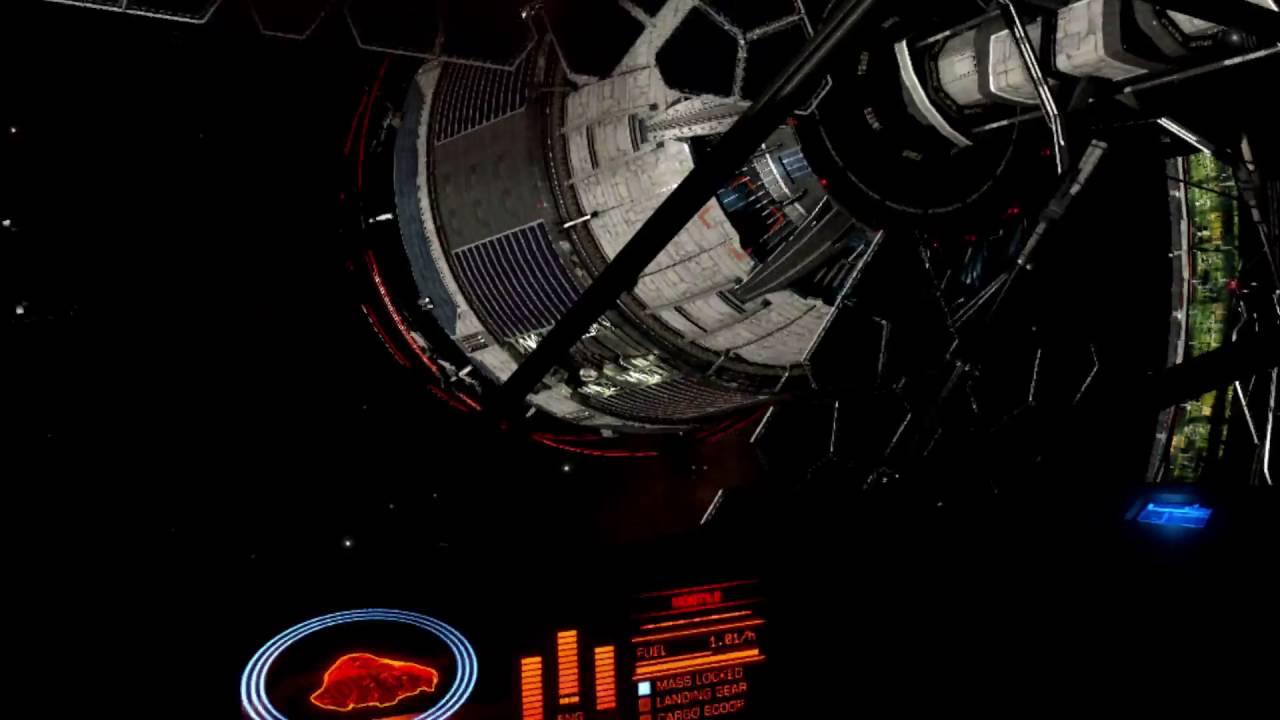 Python Cockpit and Spaceport Hug in VR : EliteDangerous