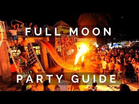 WHAT TO EXPECT AT THE FULL MOON PARTY IN THAILAND | How To Travel The World On $30 A Day | Ep 44