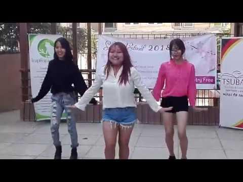 Sakura Festival Nepal 2018- Crimson Yeoja (CY) Crew Dance
