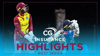 Extended Highlights | West Indies vs Sri Lanka | Pollard Power Wins Match! | 1st CG Insurance T20I