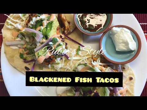 Rubio's Style Blackened Fish Tacos