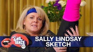 Sally Lindsay sketch - Let