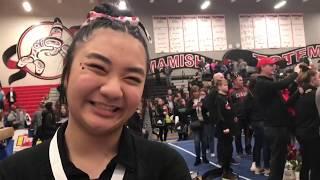 Camas captures third straight 4A gymnastics title