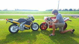 Stock Yamaha Ysr 50 vs Custom Yamaha Ysr 50!!!