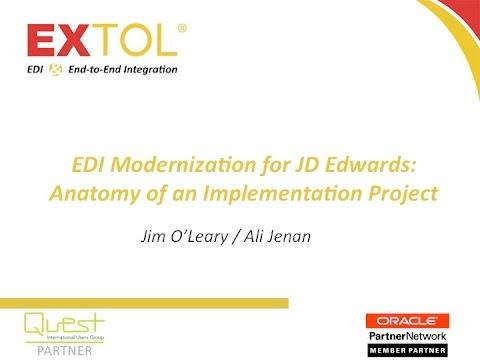 EDI Modernization for JD Edwards