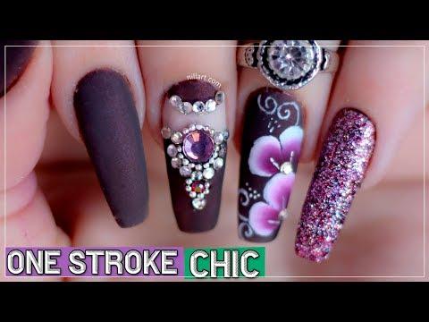 #25 One Stroke Chic - Nill Art
