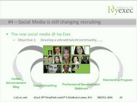 Heaven or Hype Recruiting Through Social Media - HCI and Ivy Exec Webinar